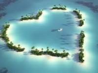 ハートの島